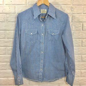 """Vintage ❌ """"Wrangler western shirt for females"""""""